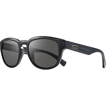 Revo Zinger Matte Black Scrattch With Graphite Lens Sunglasses