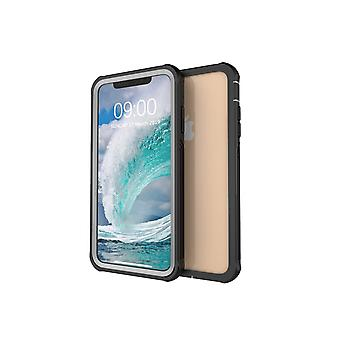 iPhone Xs Max bump-resistant shell with screen protection