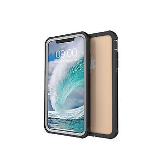 iPhone Xs Max stoßfeste Schale mit Bildschirmschutz
