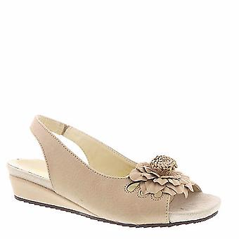 Beacon Womens SUGAR Leder open toe Casual Slingback Sandalen