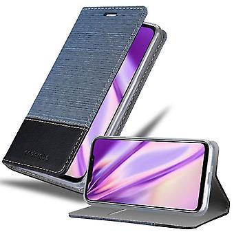 Cas Cadorabo pour la couverture de cas MEIZU X8 - étui de téléphone mobile avec fermoir magnétique, fonction de stand et compartiment de carte - Cas Cover Cover Case Case Book Folding Style