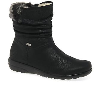 Rieker Proof Womens Warm Lined Boots