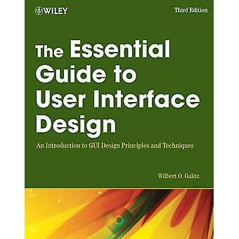 The Essential Guide to User Interface Design - An Introduction to GUI