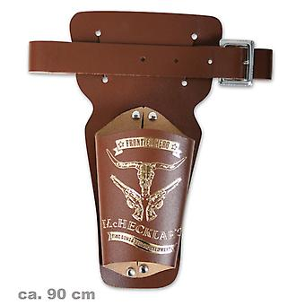 Revolver centura Brown Marshal 90 cm cowboy Sheriff Wild West