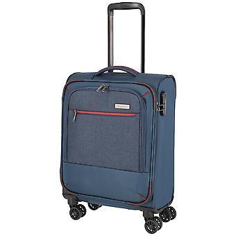 travelite Arona Hand baggage Trolley S, 4 roues, 55 cm, 33 L, bleu