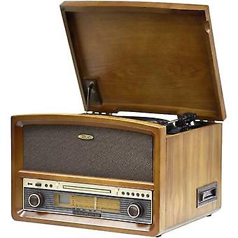 Reflexion Sistem audio AUX, CD, Bandă, Turntable, FM, USB, Bluetooth, Modul de înregistrare 2 x 40 W Lemn
