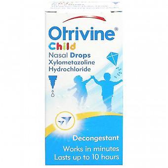 Otrivine Decongestant Children Drops 10ml