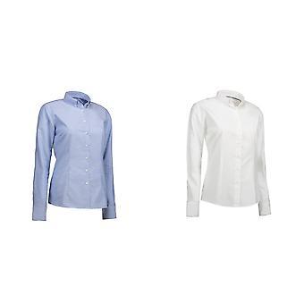 Oxford chemise moderne Fit de ID Womens/dames