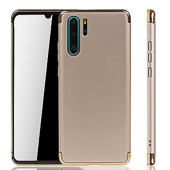Huawei P30 Pro Nouvelle Édition Mobile Housse Protection Case Bumper Hard Cover Or