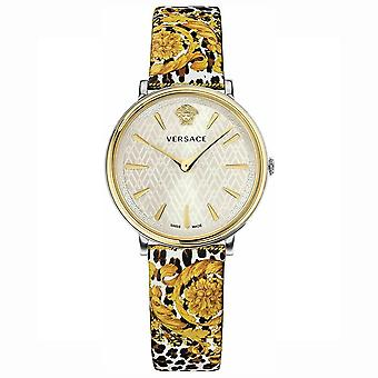 Versace VBP120017 V-Circle Tribute Edition White Ladies Watch