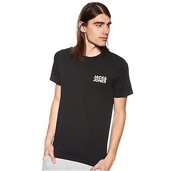 Jack & Jones Mens JJecorp Logo Korte Mouw Katoen T-shirt