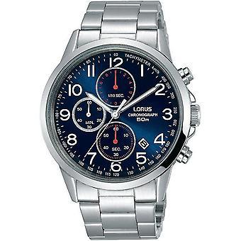 Reloj de pulsera Lorus RM367EX-9 Blue Dial Chronograph
