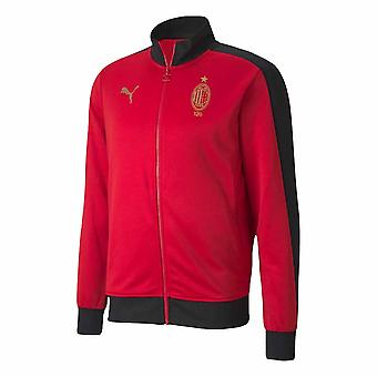 AC Milan 120th Anniversary T7 Track Jacket (Red)