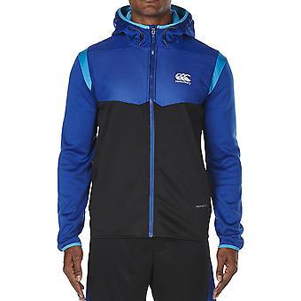 Canterbury Mens Thermoreg Spacer-Fleece Warm Full Zip Hoodie Top