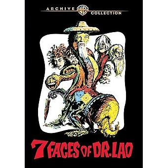 7 Faces of Dr. Lao [DVD] USA import