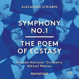 Scriabin / Russian National Orchestra / Pletnev - Symphony No. 1 - the Poem of Ecstasy [SACD] USA import