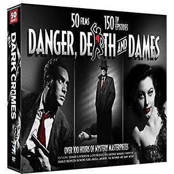 Danger Death & Dames: Film & TV Crime Dramas [DVD] USA import