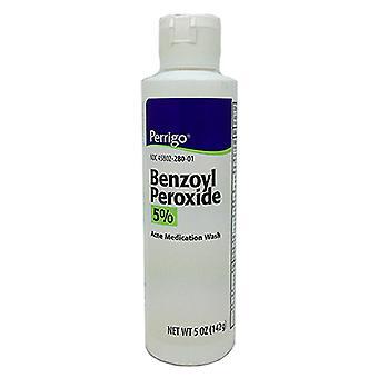 Perrigo benzoyl peroxide liquid 5% wash, 5 oz *