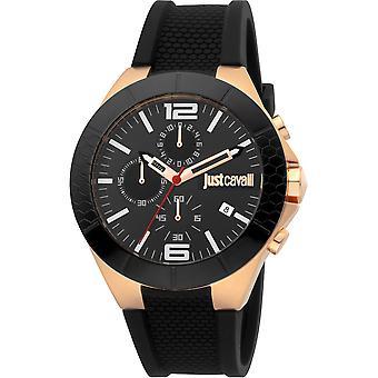 Just Cavalli Sport Watch JC1G081P0055 - Silicon Gents Quartz Chronograph