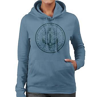 London Banter Anker Logo Frauen's Kapuzen Sweatshirt