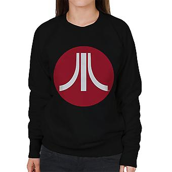 Atari Circle Logo Women's Sweatshirt