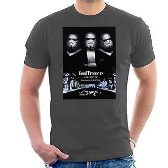 Alkuperäinen Stormtrooper goodtroopers Mafia parodia kevyille miehille ' s T-paita