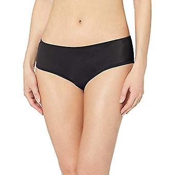 أساسيات المرأة & apos;ق هيبستر بيكيني ملابس السباحة القاع, أسود, XL