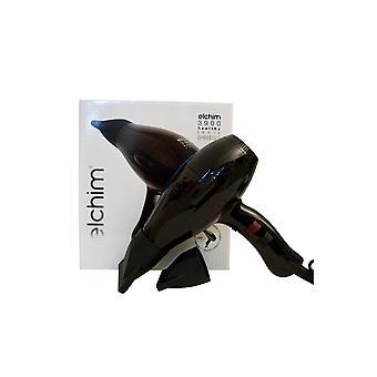 Elchim 3900 Titanium Ionic Ceramic Hair Dryer Black