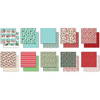 Craft Consortium It's Snome Time 6x6 Inch Paper Pad