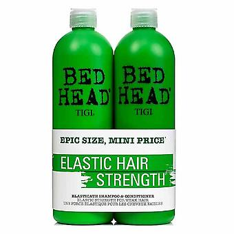Tigi Duo Pack Bed Head Elasticate 750ml Shampoo + 750ml Balsam