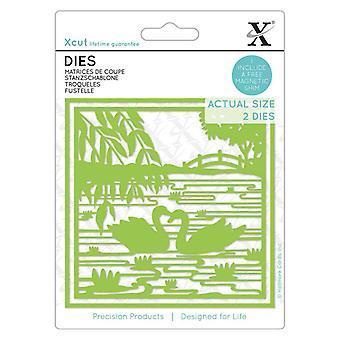Xcut Dies Oriental Swans (2stk) (XCU 504143)