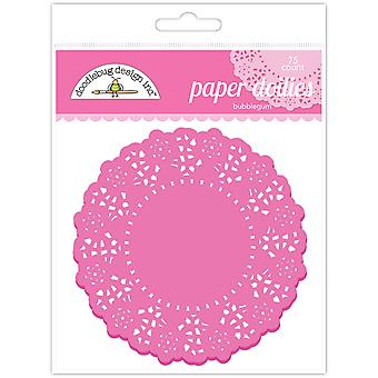Doodlebug Design Bubblegum Doilies (75kpl) (4452)