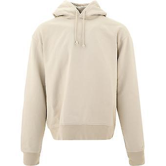 Jacquemus 206js10206227800 Men's Beige Cotton Sweatshirt