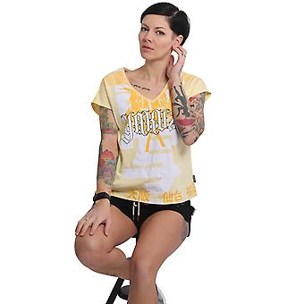 YAKUZA Women's T-Shirt Sick Nippon V-Neck
