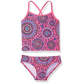 Kanu Surf Big Girls' Melanie Beach Sport 2-Piece Banded Tankini Swimsuit, Pin...