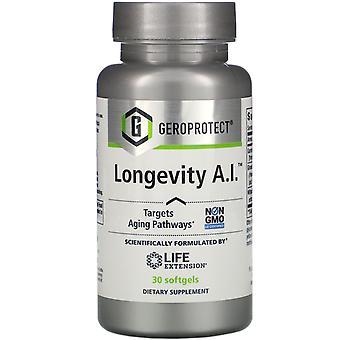 Prolongation de la durée de vie utile, GEROPROTECT Longevity A.I., 30 Softgels