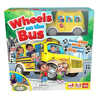 Games - Pressman Toy - Wheels on the Bus New 8537