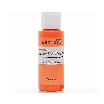 Guava docrafts Artiste All-Purpose-Acryl Handwerk Farbe - 59ml