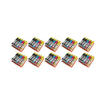 RudyTwos 10x Replacement for HP 364XL Ink Unit Black Cyan Magenta & Yellow Compatible with HP Photosmart 7510, 7520, B8550, B8553, B8558, C5324, C5370, C5373, C5380, C5383, C5388, C5390, C5393, C6324,