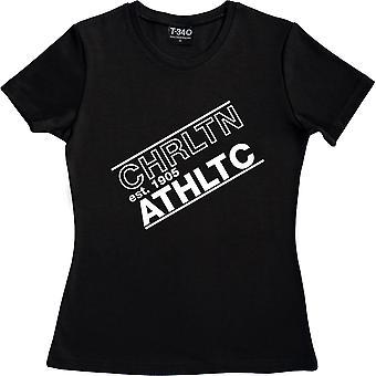 Chrltn Athltc Black Women's T-Shirt