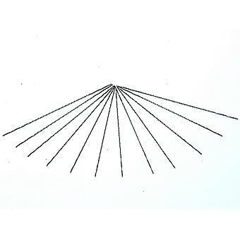 バーコ 302-83S-12P スパイラルフレット鋸刃ミディアム 130mm (5in) (x12) BAH30283S