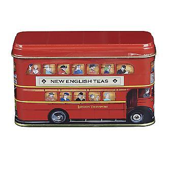 Mini boîte de bus de Londres avec 10 sachets de thé anglais de petit déjeuner
