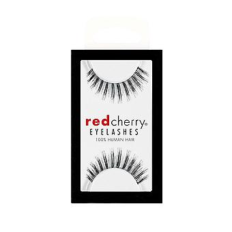 Red Cherry False Wimpers - #73 Madison - Perfect Curl Handgemaakte Wimpers