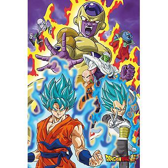 Dragon Ball Super Poster God Super 91.5 x 61 cm