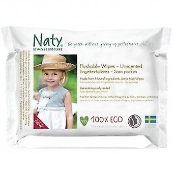 Nature Baby - Flushable Family Wipes