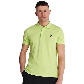 Lyle & Scott Slim Stretch Polo Shirt - Sharp Green