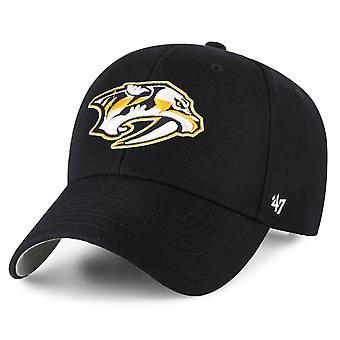 47 Brand Adjustable Cap - MVP Nashville Predators schwarz