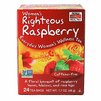 Maintenant Foods Women's Righteous Raspberry Tea, 24 sachets de thé