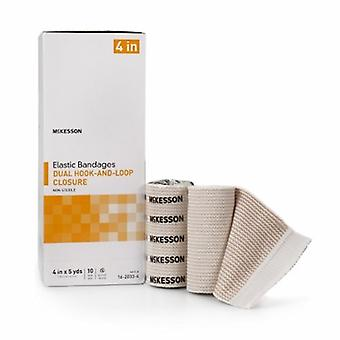 McKesson Elastic Bandage, 4 Pollici X 5 Yard, Custodia di 50