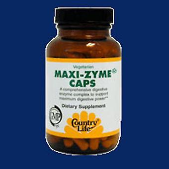 Country Life Maxi-Zyme, 120 korkkia
